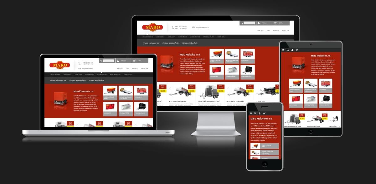 Responzivní web design - Maro Kralovice