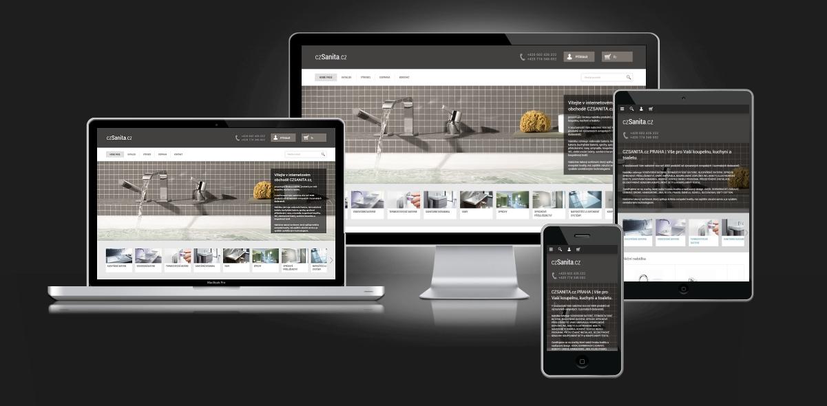 Responzivní web design - sanita