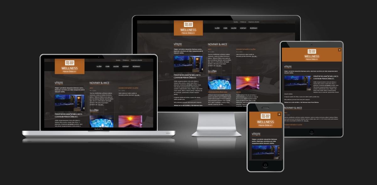 Responzivní web design_wellness-dablice_itid.cz